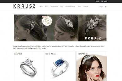 Krausz Jewellery London ~ Bespoke wedding rings in gold & silver with precious / Semi-precious gems